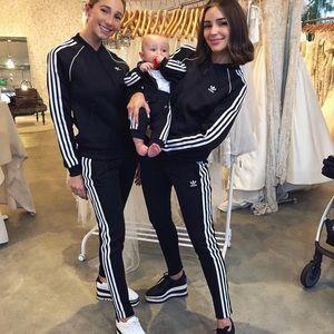 Black adidas Olivia Culpo tracksuit NWOT